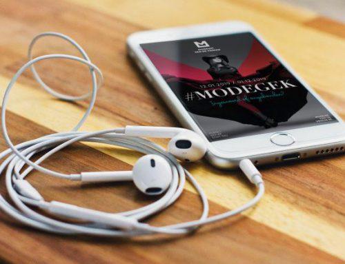 #Modegek audiotour nu beschikbaar