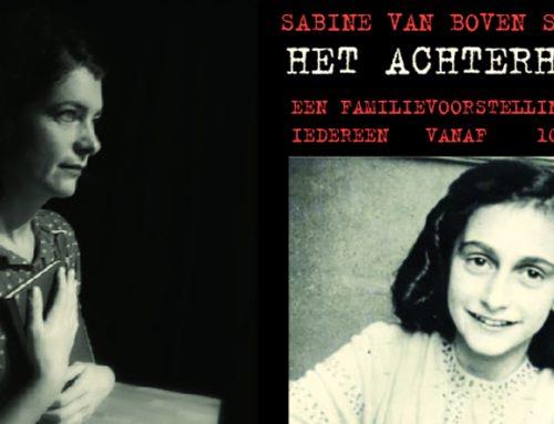 Sabine van Boven: het Achterhuis