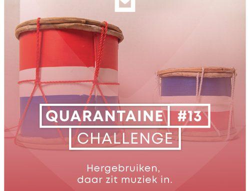 Quarantaine Challenge #13 – Hergebruiken, daar zit muziek in