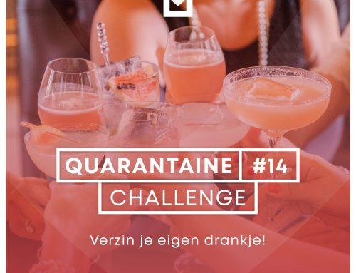 Quarantaine Challenge #14 – Verzin je eigen drankje